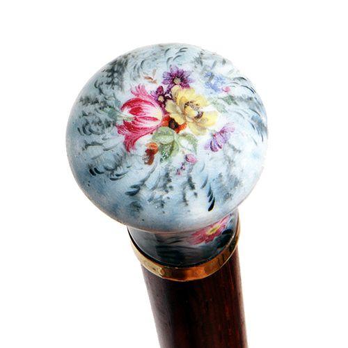 Porcelain Bouquet Dress Cane