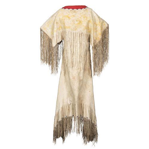 Southern Cheyenne Woman's Hide Dress