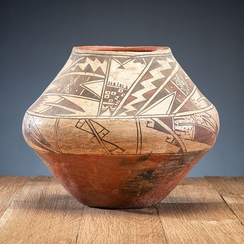Ashiwi Polychrome Pottery Jar, From an Estate in Sinking Springs, Ohio