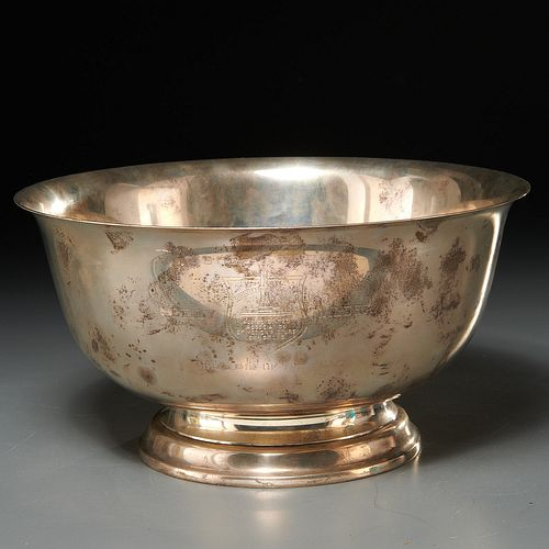 Billy Wilder award, Gorham sterling silver