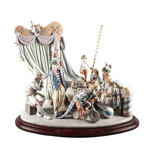 Lladro Figurine, Circus Time 1758