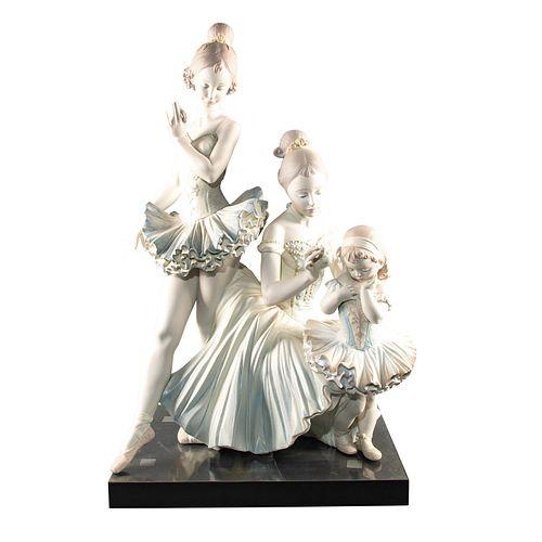 Large Lladro Sculpture, Love For Ballet 01011893