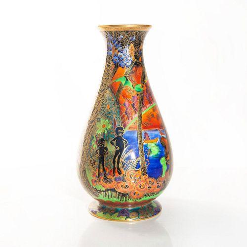 Wedgwood Fairyland Lustre Vase, Imps On A Bridge Z5481