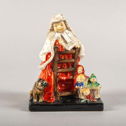 Rare Royal Doulton Figurine, Judge And Jury Hn1264