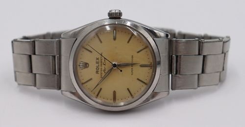 JEWELRY. Men's Rolex Oyster Perpetual Air King