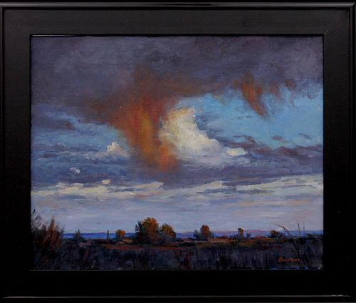 Mack Brislawn, Red Virga in the Laramie Basin