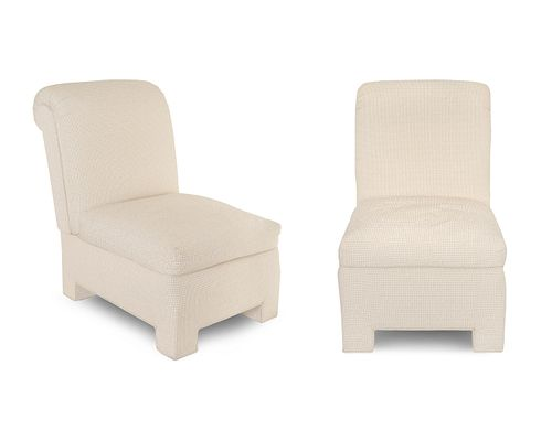 A Pair of Contemporary Lounge Chairs