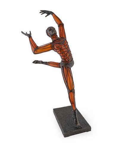 David Bennett (American, b. 1941) Salmon/Rose Dancer, 2005