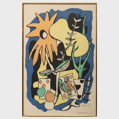 After Fernand Léger (1881-1955): The King of Hearts