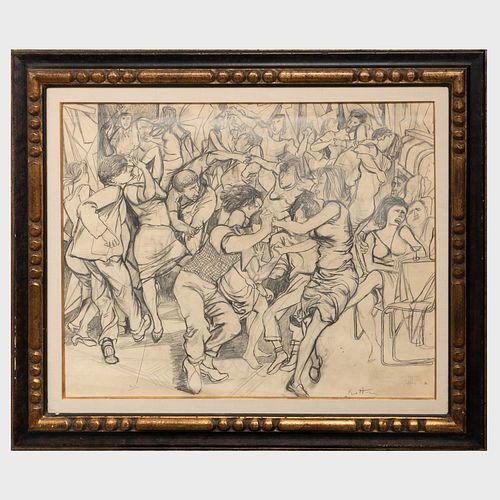 Renato Guttuso (1911-1987): Untitled Study