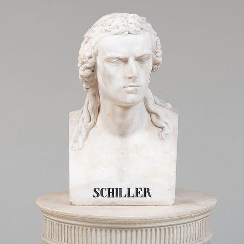 Theodor Wagner (1800-1880): Friedrich Schiller