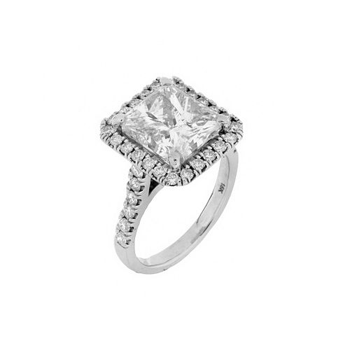 EGL Diamond and 18K Ring