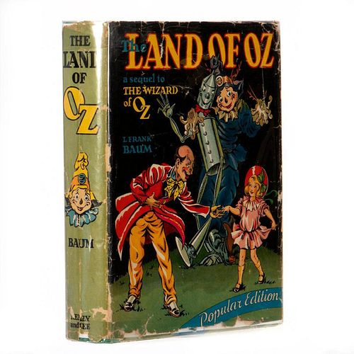 """The Land of Oz """"popular edition"""""""