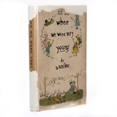First Limited Edition of the First Winnie the Pooh Book in Dust Jacket