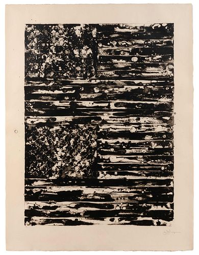 Jasper Johns (American, b. 1930) Two Flags, 1980