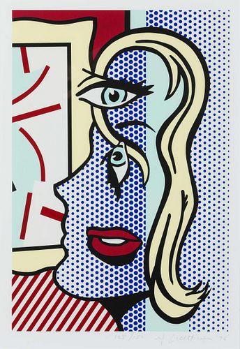 Roy Lichtenstein  (American, 1923-1997) Art Critic, 1996