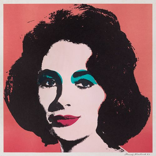 Andy Warhol(American, 1928-1987)Liz, 1964