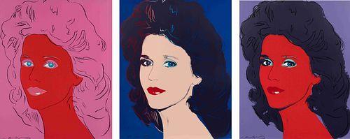 Andy Warhol (American, 1928-1987) Jane Fonda, 1982