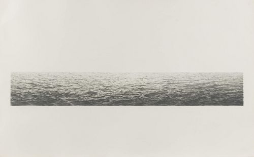 Vija Celmins (American/Latvian, b. 1938) Untitled (Ocean), 1972