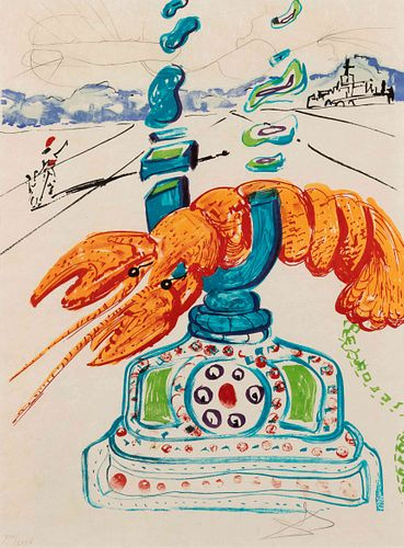 Salvador Dali (Spanish, 1904-1989) Imagination and Objects of the Future (complete portfolio of 11 including Dalinean Prophecy)