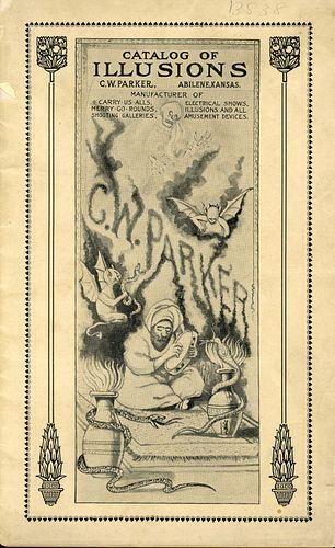 A VERY RARE C.W. PARKER TRADE CATALOG, CIRCA 1920