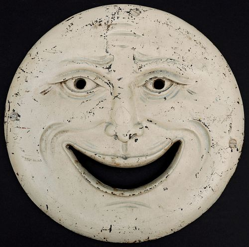 THE ONLY KNOWN H.C EVANS MAN IN THE MOON GALLERY TARGET