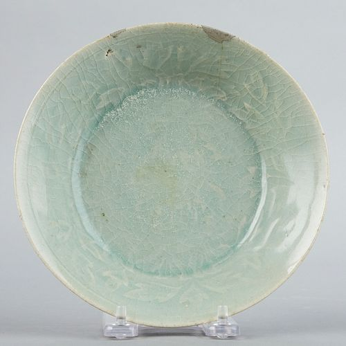 12th c. Chinese or Korean Celadon Porcelain Bowl