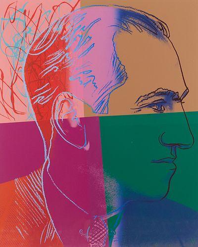 "Andy Warhol ""George Gershwin"" Screenprint"