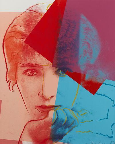 """Andy Warhol """"Sarah Bernhardt"""" Screenprint"""