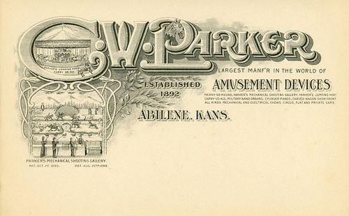 A COLLECTION OF C.W. PARKER EPHEMERA