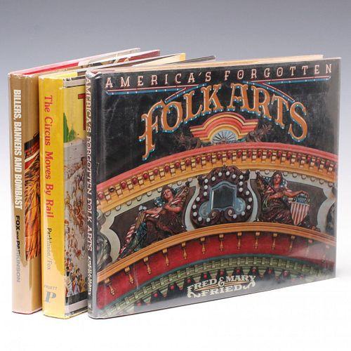 BOOKS ON CIRCUS AND CARNIVAL ART, HISTORY AND CULTURE