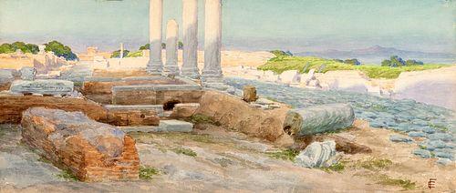 """Ettore Ferrari (Roma 1845-1929)  - """"Host"""", 1912"""