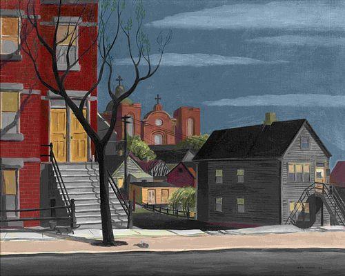 Dale Nichols(American, 1904-1995)Chicago, 1934