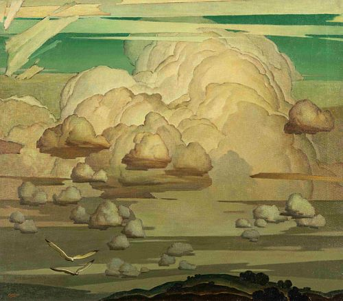 Marvin Cone(American, 1891-1964)Interval (Cloud Painting), 1934
