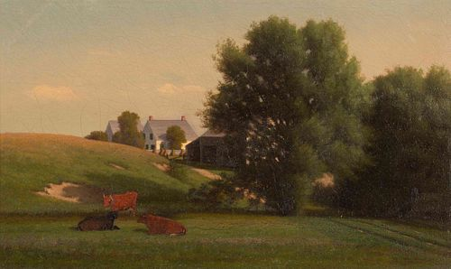 Alfred T. Ordway (American, 1819-1897) In Stowe, Vermont