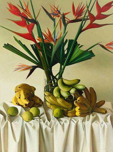 Peter von Artens (Argentine, 1937-2003) Tropical Still Life