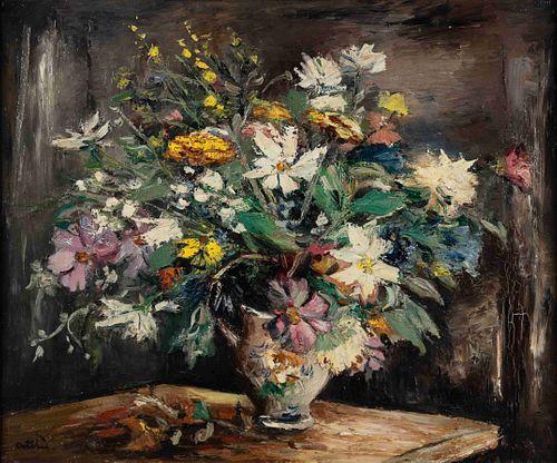 Anders Osterlind (French, 1887-1960) Fleurs dans un vase
