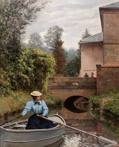Clovis Francois Auguste Didier (French, b. 1858) La journee d'ete