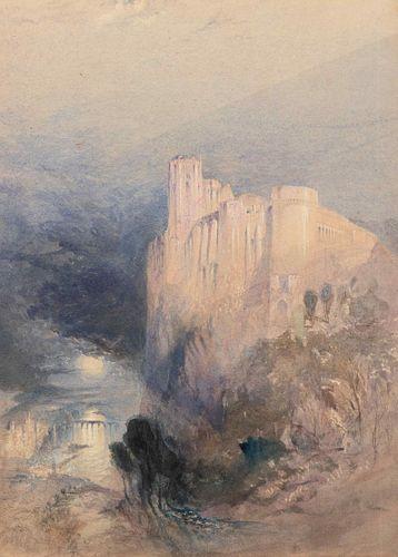 Attributed to John Ruskin(British, 1819-1900)Amboise, c. 1840-45
