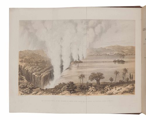 LIVINGSTONE, David (1813-1873). Missionary Travels and Researches in South Africa. London: John Murray, 1857.