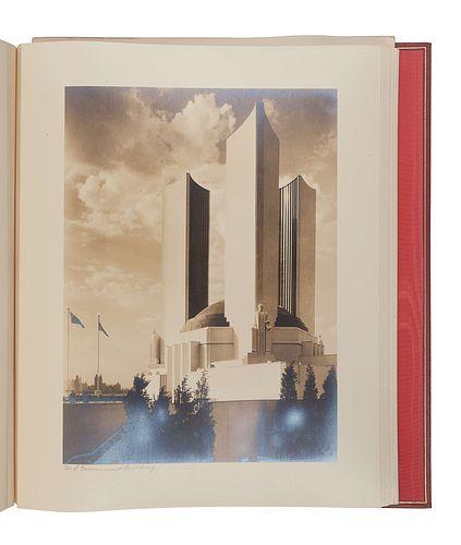 [CHICAGO WORLD'S FAIR -CENTURY OF PROGRESS]. Kaufman and Fabry Co., Photographers. A Century of Progress International Exposition Chicago 1933-1934. N