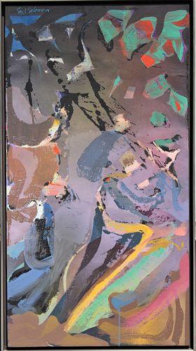 Syd Solomon (1917-2004) Amer, Oil/Acrylic on Board