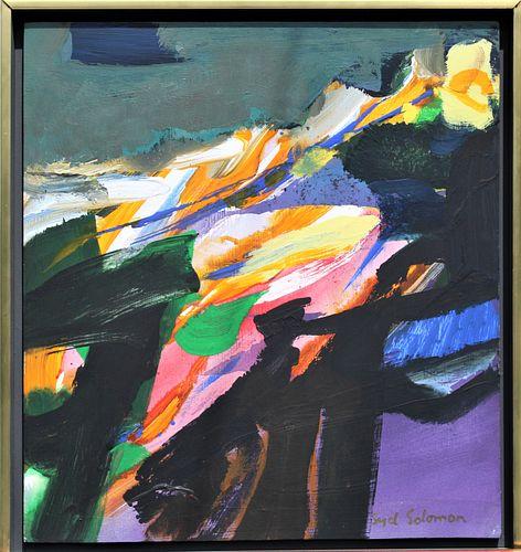 Syd Solomon (1917-2004) American, Oils on Panel