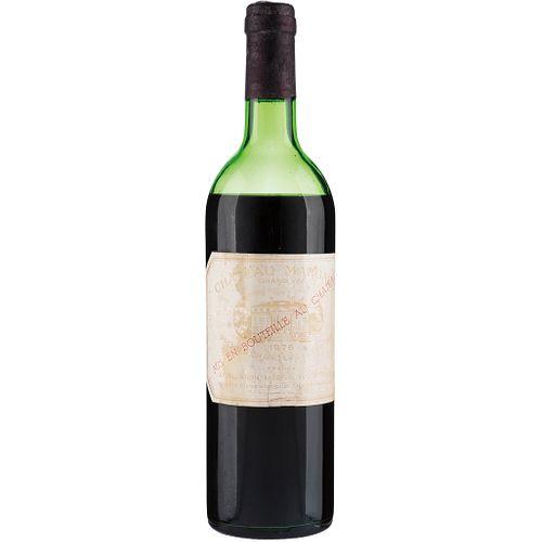 Château Margaux. Cosecha 1976. Grand Vin. Premier Grand Cru Classé. Margaux. Nivel: en la mitad del hombro.