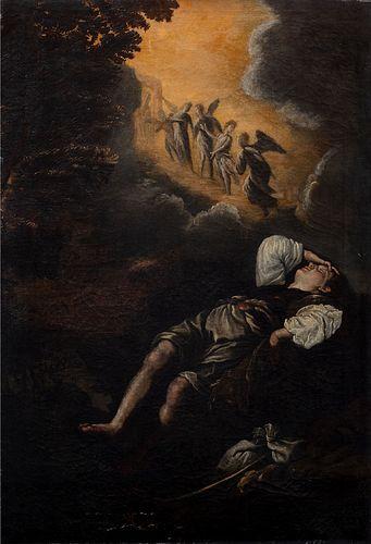 Da Domenico Fetti, secolo XVIII - Dream of Jacob