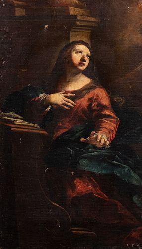 Scuola emiliana, secolo XVII - Virgin Announced