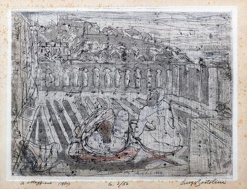 Luigi Bartolini (Cupramontana 1892-Roma 1963)  - The vacationers