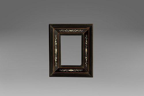 Frame in ebony and ivory, Rome XVIII-XIX centuries