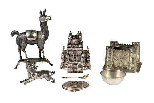 Collection of Silver Plated & Silver Items