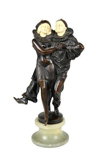 Peter Tereszczuk (1875-1963, Austrian) Bronze